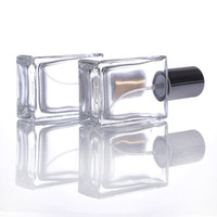 Wholesale cosmetics uk for sale - Group buy USA UK Refillable Glass Spray Perfume Bottle ml Glass Atomizer Bottle Empty Cosmetic Container For Travel