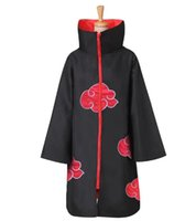 Wholesale itachi uchiha full cosplay for sale - Hot Sale Anime Naruto Akatsuki Uchiha Itachi Cosplay Halloween Christmas Party Costume Cloak Cape