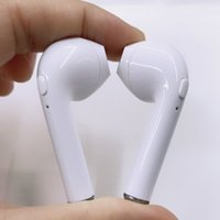 Wholesale Earphone Bluetooth For Pc - I7s TWS Twins mini in-ear Earbuds BT4.2 Bluetooth Ture Wireless Earphones for IOS and Android smart phones and tablets pc