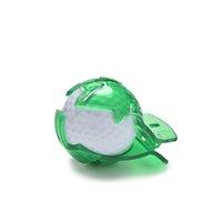 mark golf topu toptan satış-1 Adet Şablon Beraberlik Templet Doğrusal Işareti Hizalama Koyarak Klip Aracı Golf Topu Astar Hattı Marker SıCAK
