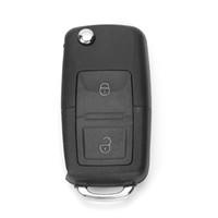 ingrosso skoda remote-2 pulsanti 1J0 959 753 AG Chiave a distanza per auto con lama vuota ID48 CHIP per Skoda VW Seat 434MHz
