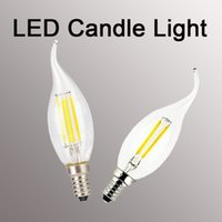 Wholesale New and fashion LED Dimmable Candelabra Bulb ETL Certified W W Equivalent K Warm White LM E12