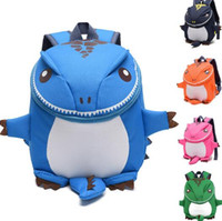 Wholesale Backpacks For Toddler Girls - Dinosaur Kids Backpack Girl And Boy Cartoons Toddler Backpack Kindergarten Book Bag Good Gift For Children