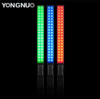 ingrosso yongnuo-Luce video LED portatile YONGNUO YN360 3200k-5500k RGB Colorata 39.5CM Ice Stick Foto professionale Luce LED yn 360 bacchetta