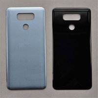 Wholesale G6 Battery - Back Battery Door Back Cover Housing Glass Replacement for LG G6 H870 H871 LS993 VS998 free DHL