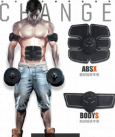 Wholesale abdominal belts - Hot!Abdominal Trainer, Muscle Toner Toning Belts Ab Trainer Core Training Equipment Waist Trainer Stomach Exercise Machine Men Women Fitness