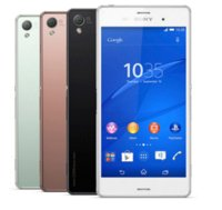 Wholesale 3g ram 4g resale online - Original Unlocked Sony Xperia Z3 D6603 g g Android Quad core gb Ram quot Screen mp Camera refurbished phone
