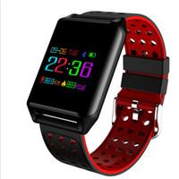 pantalla m7 al por mayor-SOVO M7 R11 Reloj de pulsera inteligente Frecuencia cardíaca Presión arterial Banda inteligente 2 Pantalla colorida OLED Pulsera deportiva IP67 a prueba de agua