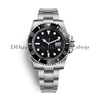 Wholesale diver brand watch automatic - AAA Luxury Mens Watches Top Luxury Brand Watch Quality Asia 2813 40mm 116610 Stainless Steel Automatic Mechanical Watches Waterproof 30M