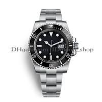 ingrosso orologi automatici di qualità del mens-Orologi da uomo di lusso Top uomo Luxury Sport Watch qualità Asia 2813 40 millimetri in acciaio inox automatico orologi luminosi meccanici impermeabile 30M