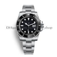 relojes de calidad para hombre al por mayor-Relojes de lujo para hombre Top hombre Reloj deportivo de lujo de calidad Asia 2813 40 mm de acero inoxidable mecánico automático relojes luminosos impermeable 30 M