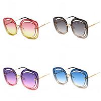 c9da24c52f Luxury Brand Shade Summer Fashion Sunglasses Women Vintage Brand Designer  Sun Glasses For Ladies Gafas Retro UV400 18bc ZZ