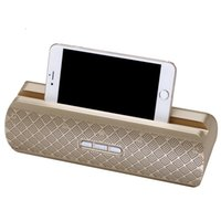 Wholesale hifi active speakers - Bluetooth dock speaker portable mobile support radio FM caixa de som active subwoofer car parlante portatil Bluetooth Speaker BOX