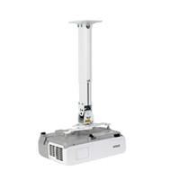 универсальные проекторы оптовых-Universal Flexible Audio/ Projector Mount Ceiling / Wall Mount Bracket Height adjustable 290-390mm