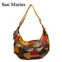 Wholesale Large Cross Body Hobo Bags - Ladies Hand Bags Women Big Hobo Handbags Shopper Tote Bag Large Messenger Bag Cross body Shoulder Bag Purses