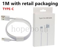 Wholesale iphone oem - 100pcs USB Charger Cable A+++++ Quality OEM 1M 3Ft Sync Data Cable Cords With Retail Box