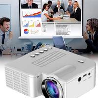 en kaliteli videolar toptan satış-En iyi 2019 Mini Taşınabilir UC28B projektör 500LM Ev Sineması Sinema Multimedya LED Video Projektör Desteği USB TF Kart Iyi kalite