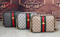 Wholesale High Fashion Pu Leather Handbag - 2018 High Quality Chain Shoulder Lady Messenger Bag Candy Color Crossbody Bags New Fashion Women Solid PU Leather Handbag G1705