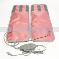 infrarot-massagegerät fettverbrennung großhandel-FIR Far Infrarot Ray Sauna Decke Gewichtsverlust Fettverbrennung Bein Slimmerbelt vibrierenden Bein Oberschenkel Massagegerät