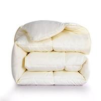 couette en coton jumelé achat en gros de-Couverture en duvet d'hiver en duvet d'oie blanche de Sinonics Couverture de couette en coton beige