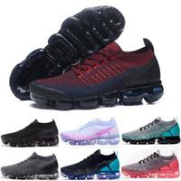 outlet store aff9f 982ce 2018 Air Cushion Chaussures de course 2.0 Hommes Chaussures de sport Noir  Designer Trainer Blanc Femmes Corses Randonnée Jogging Marche Marche  Sneakers en ...