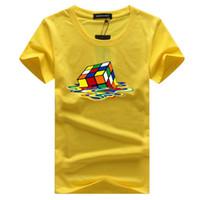 Wholesale big bang theory sheldon t shirt - Sheldon Cooper Fusion rubik Cube t shirt white men tshirt homme casual plus size The Big Bang Theory geek T-Shirt