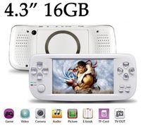 romantik curl haare großhandel-PAP KIII Retro Mini-Spielekonsole Eingebaute klassische Spiele 16G 4,3