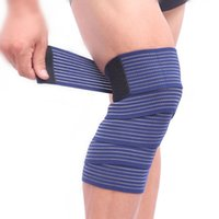Wholesale Elastic Bandage Tape Sport Knee Support Strap Shin Guard Compression Protector For Ankle Leg Wrist Wrap