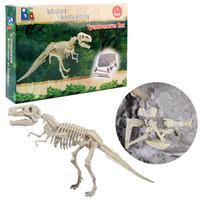 kit takımları toplayın toptan satış-Bir Dinozor Bilim Kiti Kazma kazma Dinozor ve Bir T-Rex İskelet Araya İskelet Dinozorlar Kazı Kitleri çocuk oyuncakları monte