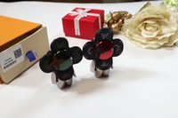 kutulu metal anahtarlıklar toptan satış-Moda sıcak anahtarlık lüks anahtarlık deri üst kalite ile sevimli anahtarlık buzağı deri metal portachiavi nefis ambalaj hediye kutusu