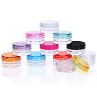 Wholesale 10 Colors Wax Containers Food Grade Plastic Box Jar Case For Wax Thick Oil Holder Dry Power Dab Tools Dabber Good Flavor than Silicone