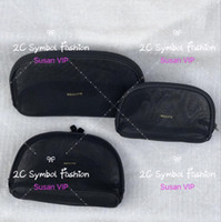 makyaj fiyatları ayarlar toptan satış-3 torba set (fiyat 3 torba için) Moda kadınlar Şeffaf Mesh cosetics organizatör marka makyaj çantaları lüks tasarımcı çanta sayacı hediye