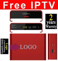 Wholesale Movie Streaming - 50pcs Custom Made T95u 3GB 32GB with fully IPTV streaming watching thousands live tv movies and tv shows Android6.0 7.1 TV box