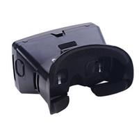 ingrosso occhiali 3d vr google-Head-Mounted HOT-Portable Google Cardboard 3D Versione VR occhiali di realtà virtuale 3D VR video fai da te con Interruttore magnetico film Ga