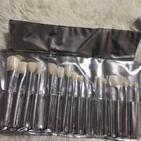 Wholesale feather kits - 2018 New Makeup Brushes 16pcs set Professional Brush Set Brands Makeup Foundation Powder Beauty Tools Cosmetic Brush Kits with Bag