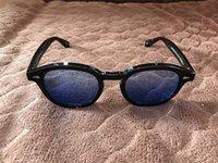 очки johnny оптовых-2019 Очки Джонни Депп Солнцезащитные очки Lemtosh Солнцезащитные очки Высококачественные поляризованные солнцезащитные очки UV400 с оригинальным футляром