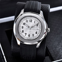 Wholesale mechanical military watches - Nautilus Watch Men AAA Automatic Luxury Watches 8 Colors Rubber Strap Sports Watch Mens Military Automatic Mechanical Orologio di Lusso