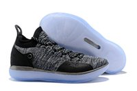 Wholesale kd size 12 men - Wholesale New kd 11 XI GREY men basketball shoes 11S sports sneakers 2018 trainers size 7-12