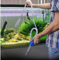 Wholesale Aquarium Cleaner Fish - Aquarium Clean Vacuum Water Change Gravel Cleaner Fish Tank Siphon Pump Filter Siphon Gravel Cleaner Fish Tank Pump Filter KKA3890