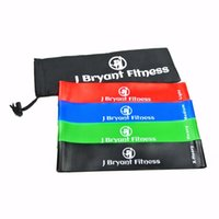 Wholesale fitness rubber resistance resale online - Fitness Resistance Band set Levels Elastic Latex Strength Training Athletic Rubber Loops Bands Workout Fitness Equipment Y1892612