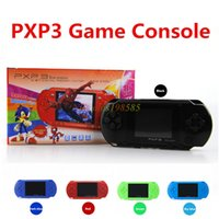 Wholesale New Player Games - New Arrival Game Player 2.7 Inch LCD Screen PXP3(16Bit) PVP (8Bit) Handheld TV Game Player Console 5 Colors Mini Portable TV Game Players
