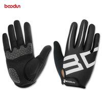 Wholesale Road Bicycle Winter Gloves - Boodun Men Women Cycling Gloves Full Finger Motocycle Boxing Groves MTB Road Bike Bicycle Riding Mittens Gants Velo Luvas de goleiro