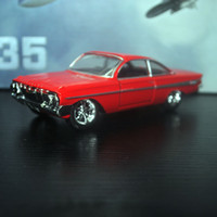 fast furious gifts NZ - JADA 1 32 Scale Car Toys Fast & Furious 8 1961 CHEVY IMPALA Diecast Metal Car Model Toy For Gift Kids Collection