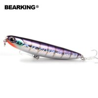 ingrosso attrezzatura da pesca assortiti-BEARING Modello caldo: 5pcs / lot esche da pesca, attrezzatura da pesca professionale assortiti color penceil esca 110mm 13g galleggiante, topwaterY1883010