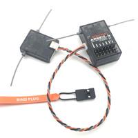 empfänger 6ch großhandel-Spektrum AR6210 DSMX Empfänger 2.4Ghz 6CH Empfänger mit Satelliten Kostenloser Versand