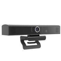 hd kamera tv kutusu toptan satış-Kamera ile Android TV Kutusu, Skype için Mic Amlogic S905X Dört Çekirdekli 1 GB RAM 8 GB ROM Wifi Ev Medya Oynatıcı HD3S Akıllı TVbox