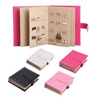 jewelry storage book NZ - Leather Earring Book Eardrop Display Organizer Ear Studs Portable Storage Book  sc 1 st  DHgate.com & Jewelry Storage Book NZ | Buy New Jewelry Storage Book Online from ...