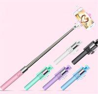 ingrosso s5 treppiede-Fotocamera palmare Selfie Stick per Iphone 6 6S Plus 5 5 S Per Samsung Galaxy S4 S5 S6 S7 Bordo Monopiede Mini Self-Pole Treppiede Monopiede