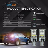 led-leuchten 921 glühbirnen großhandel-VANSSI 2x T15 W16W LED Canbus Birnen-Fehler-freie 10-LED 3020 Extrem helle 912 921 Auto LED-Zusatzlicht-Auto-Rückseiten-Lampen-Birne