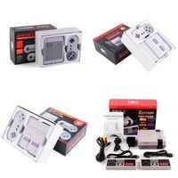 Wholesale nes snes resale online - Super Famicom Mini SFC TV Video Handheld Game Console Entertainment System For NES SNES Games English Retail Box